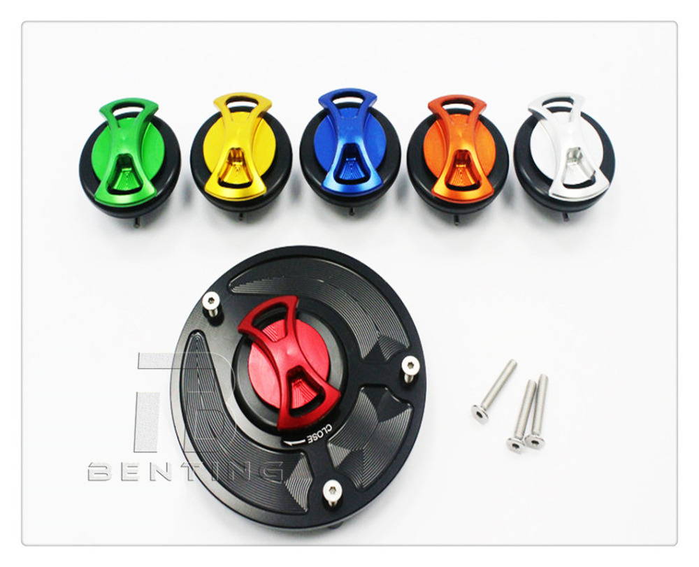 Keyless Gas Fuel Tank Cap Cover For Honda CB600F/599/Hornet 600  CB900F/919/Hornet 900 CBR 250RR CBR 400RR for honda cbf1000 cbf500 cbf600 cb600f cb900f hornet nt700v st1300 cnc gas fuel tank cap cover motocycle accessories