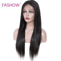 Бразильский прямо кружева фронтальной парики 13x6 кружева фронтальной парик с для волос предварительно накладка из волос линия для черный Дл