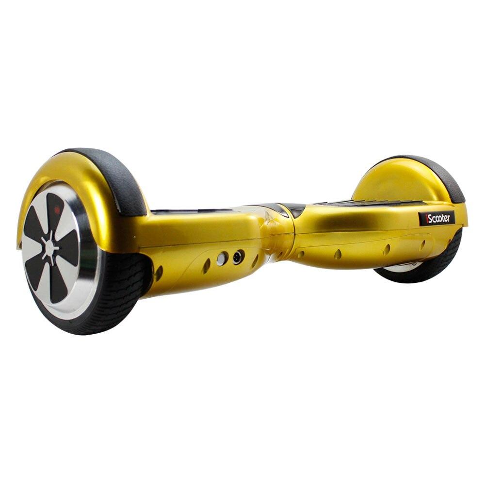 Hoverboard électrique de scooter d'iscooter 6.5 pouces 2 roues avec le scooter d'équilibre d'individu de sac de transport de Bluetooth - 4