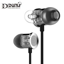 DUNU DN-2000J Dupla Armadura Balanceada Dinâmico Único Híbrido HiFi Earphones Inner-Ear