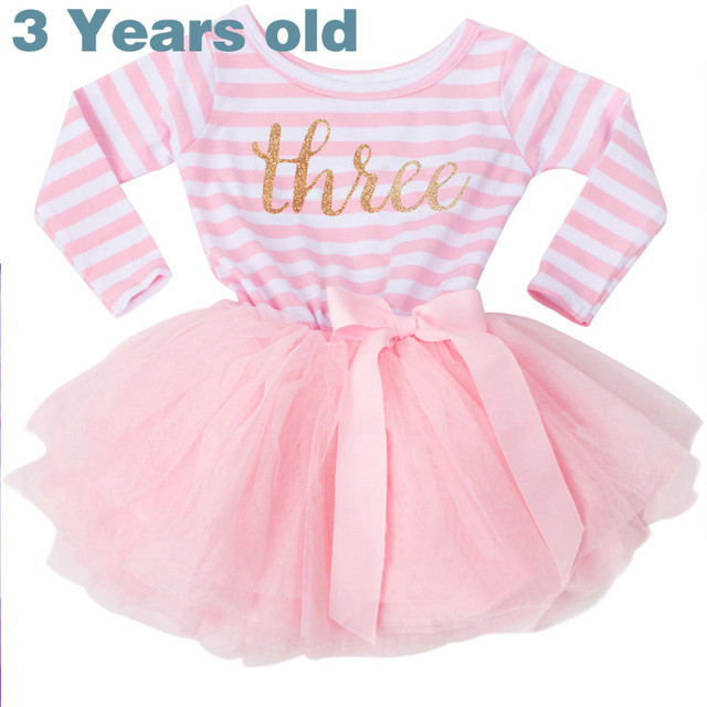 Winter Baby Girl Baptism Dress Clothes For Newborn Infant 1 2