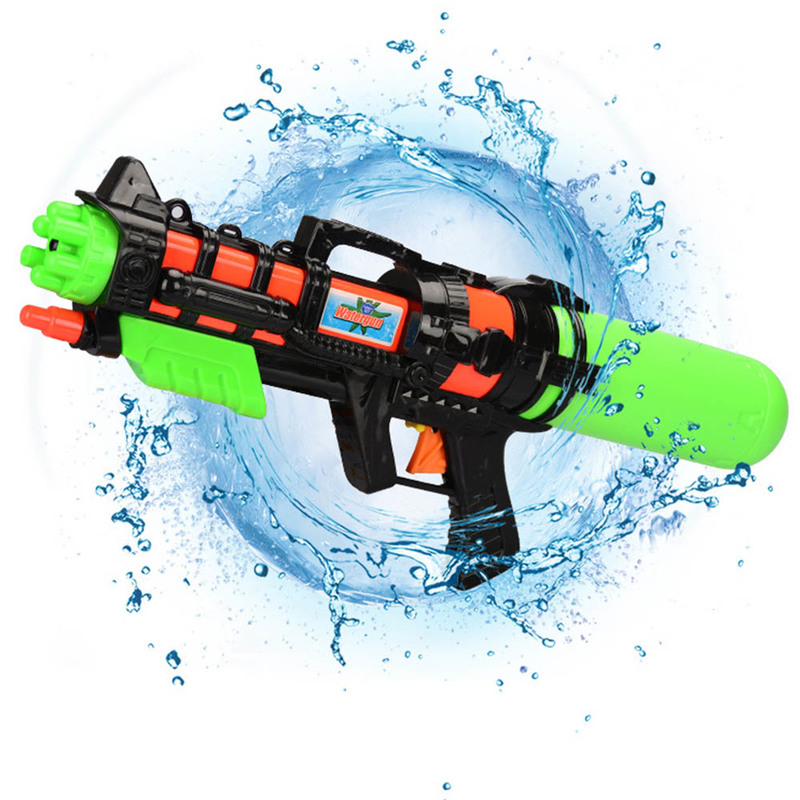 Summer Kids Beach Swimming  Water Gun Toy Manual Pressure Spray Toy Outdoor Beach Water Funny Toys