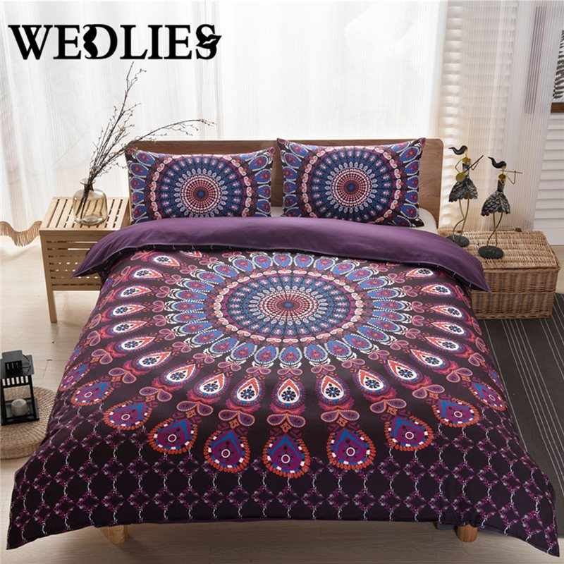 Aliexpress Com Buy Indian Bedding Cover Boho Style