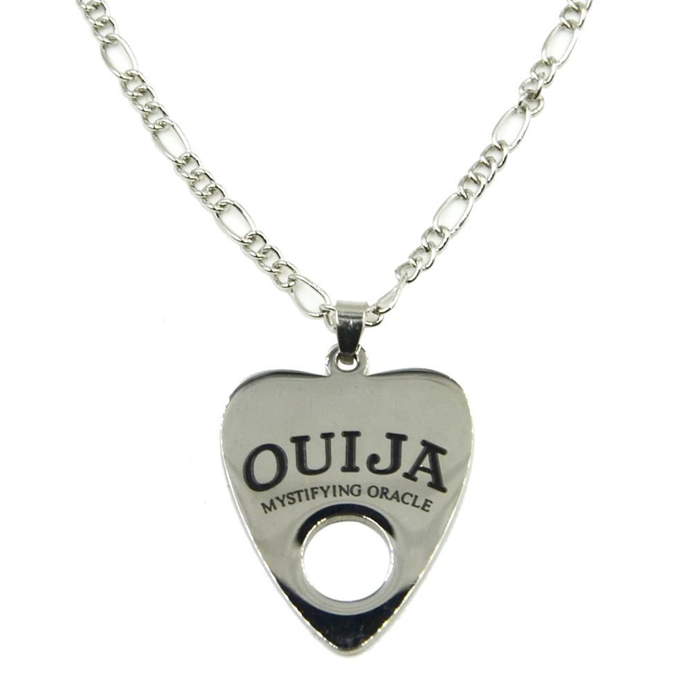 Fashion stainless steel ouija pendant necklace body for Stainless steel jewelry necklace
