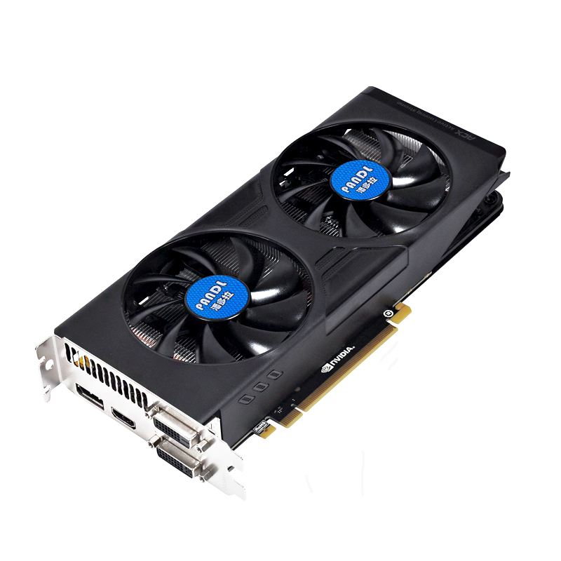 PANOLA Nvidia GTX970 4G DDR5 gaming video card high-end GTX970 desktop graphics card DirectX12 1664 shaders 2 HDMI HD output
