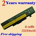 Jigu novo 6 células bateria do portátil para lenovo g580 z380 g480 v480 y480 y580 l11s6y01 l11l6y01 l11o6y01 l11s6f01 l11l6f01 l11p6r01