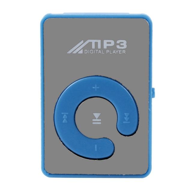 ミニクリップ花柄 MP3 プレーヤー音楽メディアのサポートマイクロ SD Tf カード HIPERDEAL ドロップシップ 171011