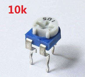 30PCS RM065 10K ohm Trimmer Potentiometer (RM-065 103) Trimmer Resistors Variable adjustable Resistor шина для цепных электрических пил
