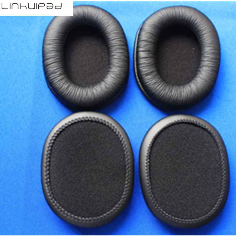 Soft leatherette ear cushion for sony MDR-7506 MDR V6 CD900ST headphones 2 pairs/lot
