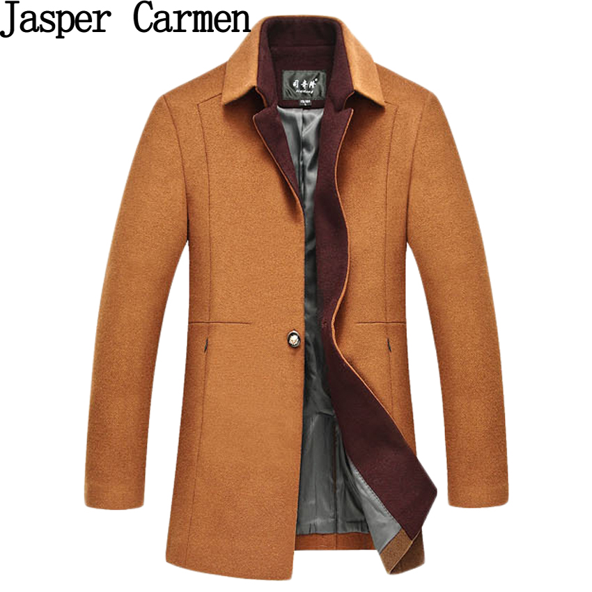 Free shipping New Arrival Winter Wool Blends Brand Men Dress Jackets Men Casual Thicken Wool Coat Warm Men's Clothing 185hfx