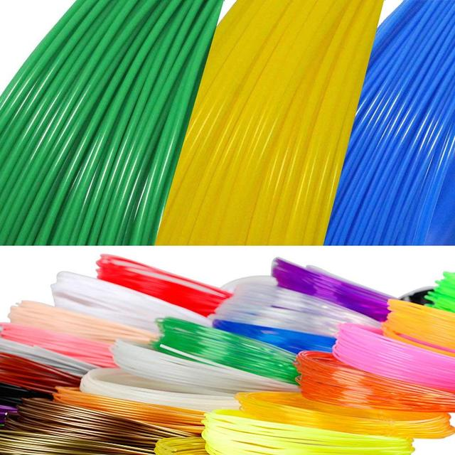 5 Meter Black White Red PLA 1.75mm Filament Printing Materials Plastic For 3D Printer Extruder Pen Accessories Colorful Rainbow
