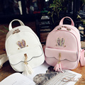 Favocent New Brand PU leather backpack women Solid 12Inch Laptop Women Bag Vintage School Bags mochila Cute Leather Daypack Hot