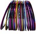31 Шт. 31 Разноцветные Разноцветные Rolls Чередование Ленты Линия Nail Art Украшения Наклейки DIY Советы Ногтей