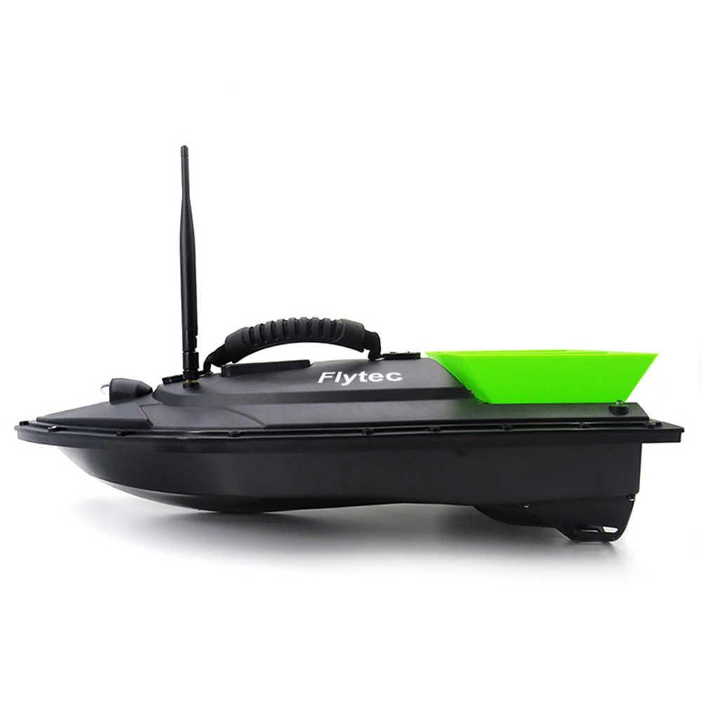 Flytec 2011-5 generación pesca RC cebo barco juguete doble Motor buscador de peces Control remoto pesca barco velocidad RTR kit de Navidad