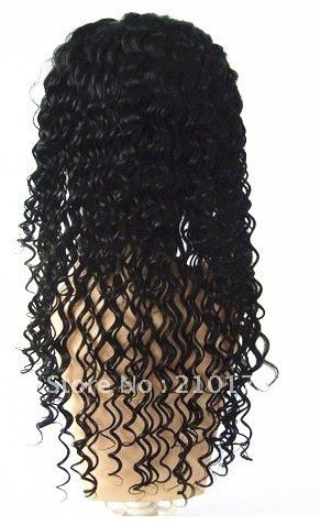 Retail 100%unporcessed hair lace wigs importers,deep weave,free shipping