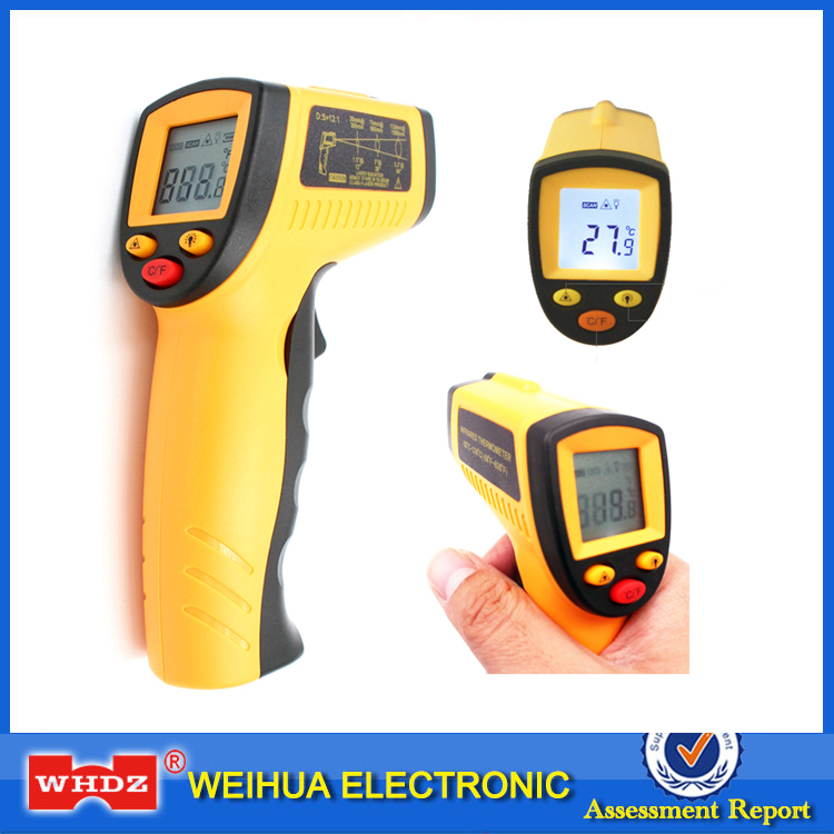 WHDZ WH320 Digital Laser LCD Display Non-Contact IR Infrared Thermometer 50 to 330 Degree Auto Temperature Meter Sensor Handheld цена