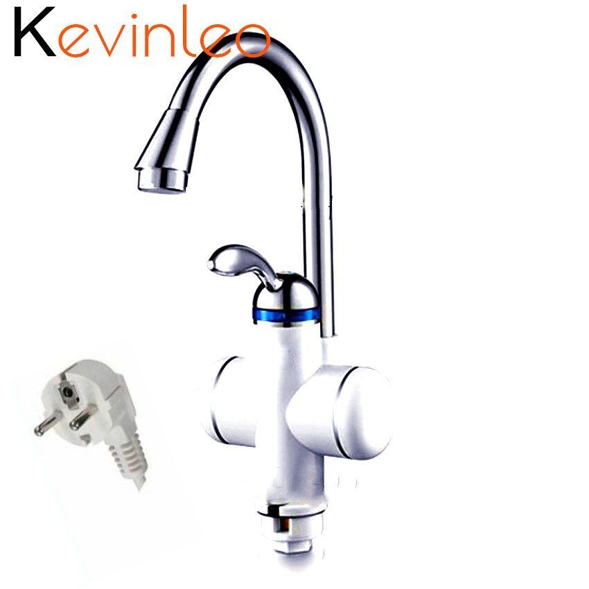 220 v 3000 watt Küche Durchlauferhitzer Wasserhahn Elektrische Tankless Wasser Heizung Momentanen Kessel für Küche Kalten Heißer Dual -verwenden