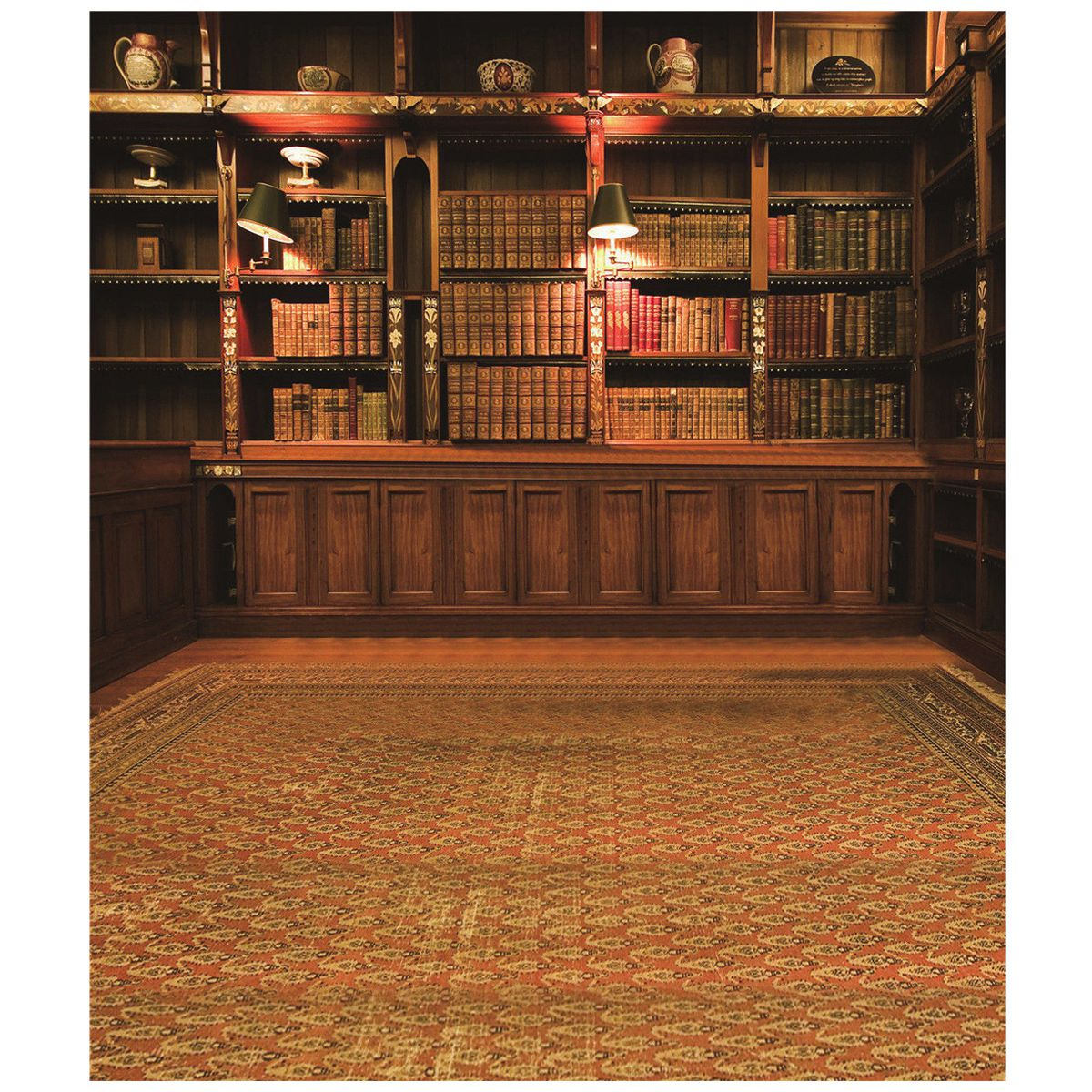 Retro Study Library Books Shelf Photography Photo Background Backdrop Prop 3X5FT thin vinyl vintage book shelf backdrop book case library book store printed fabric photography background f 2686