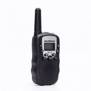 Image 3 - BF T3 для переносного приемо передатчика комплект из 2 частей Baofeng T388 PMR GMRS мини ручной для переносного приемо передатчика детей Беспроводной радио гражданского дорожная сумка