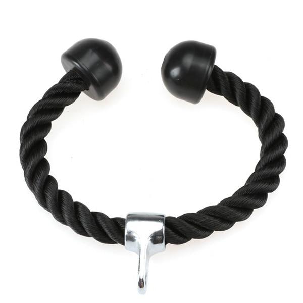 Tricep Nylon Rope Push Pull Down Black Drop Shipping