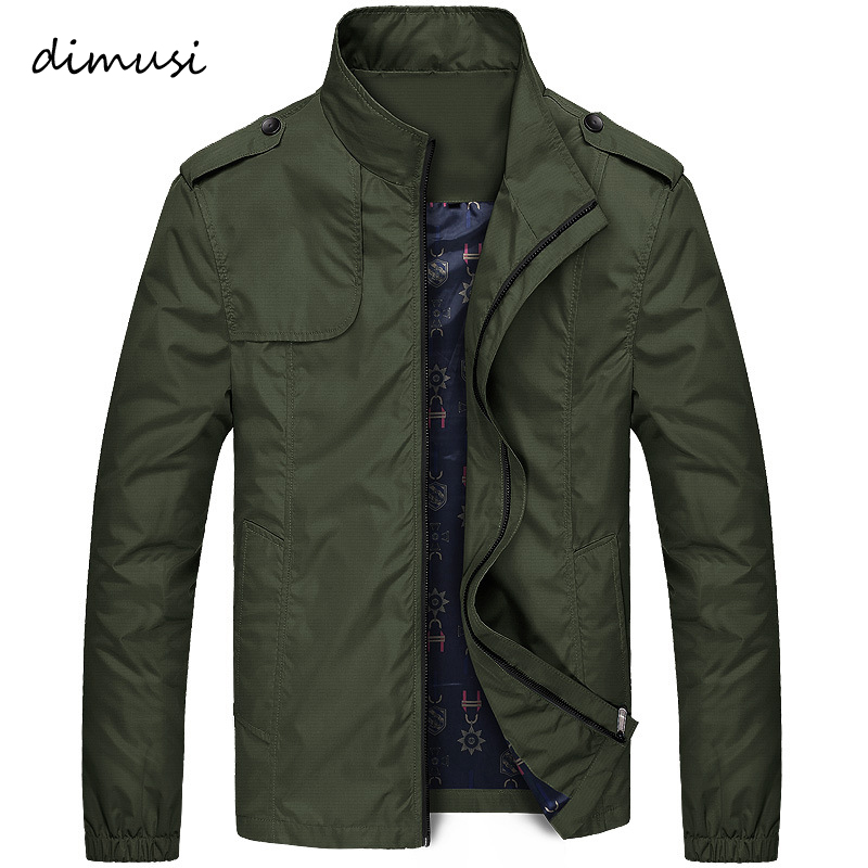 DIMUSI Spring Men's Bomber Jacket Male Fashion Streetwear Hip Hop Coats Mens Outwear Windbreaker Slim Fit Jackets Clothing,YA833