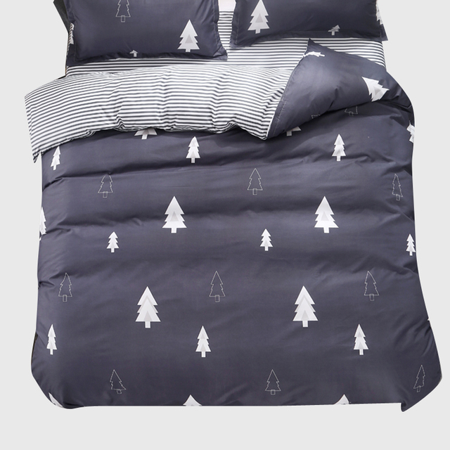 1PCS Duvet Cover 200*200 Bedding Quilt Blanket Comforter Cover Printing Single Double Queen King Customized 140*200cm Tree