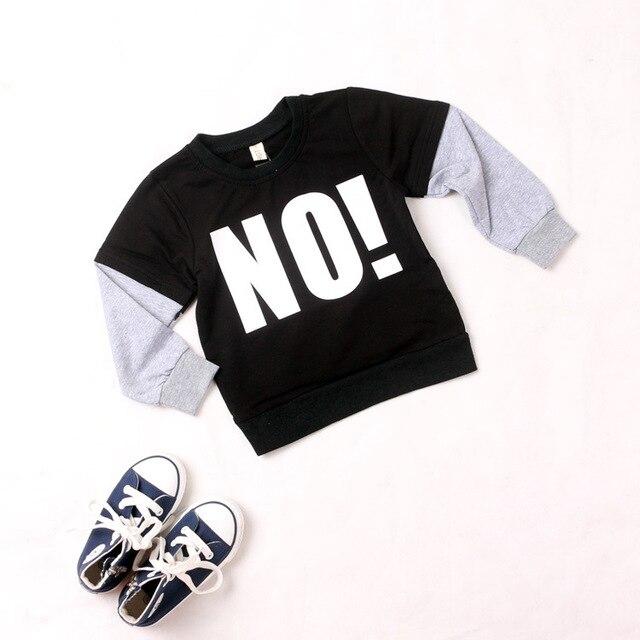 Ins горячая-продажи 2015 детская NUNUNU бобо выбирает осенью одежды мальчиков с длинными рукавами хлопок футболки мальчиков младенца одежда