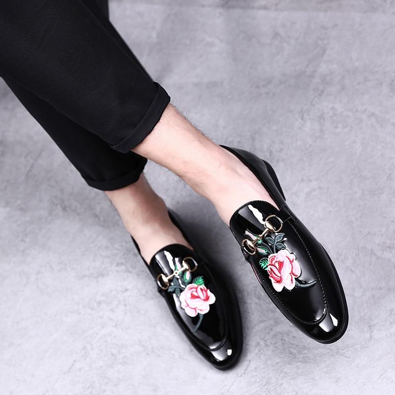 Ljetne muške casual svijetle kožne ravne cipele personalizirane - Muške cipele - Foto 5