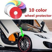 Rotella di automobile di protezione adesivo decorativo striscia anti-graffio rim tape/pneumatico cura di protezione di goccia di copertura barca auto a forma di modifica