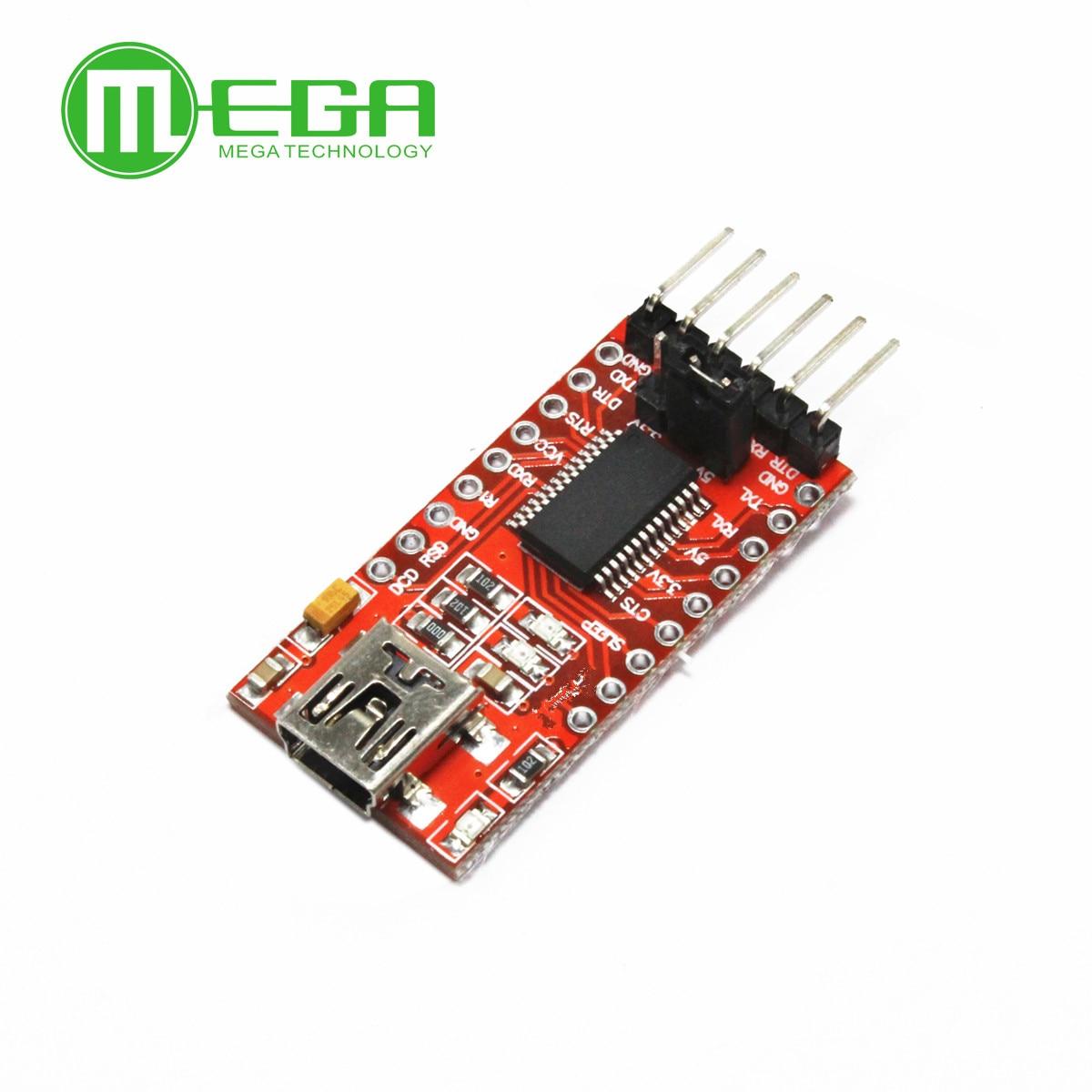 1pcs, FT232RL FT232 FTDI USB 3.3V 5.5V To TTL Serial Adapter Module For A-rduino Mini Port
