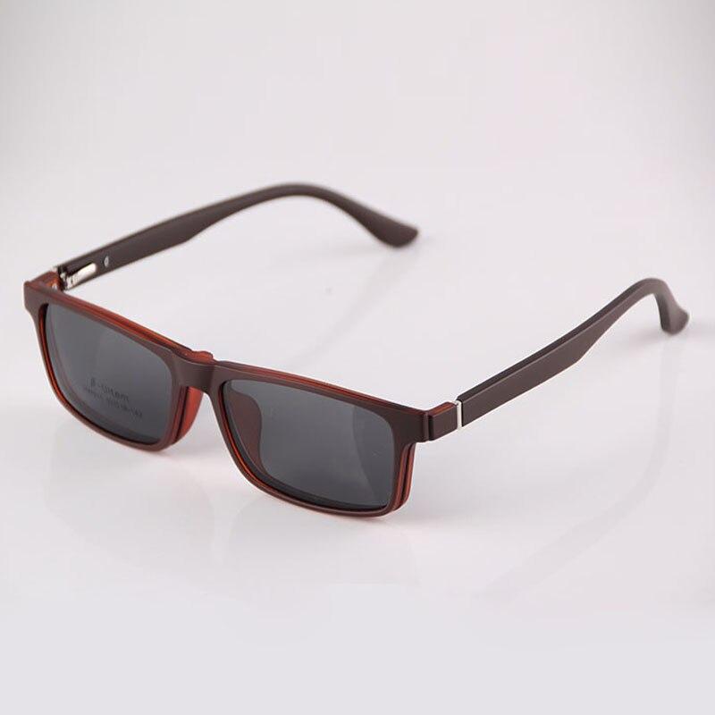 HEJIE Man Woman Magnetic Polarized Sunglasses Clips&ULTEM Spring ...