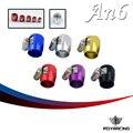 CORRIDA PQY-AN-6 AN6 Combustível Braçadeira Finalizador Hex Finalizadores ID: 16mm PQY-SL1209-06-031
