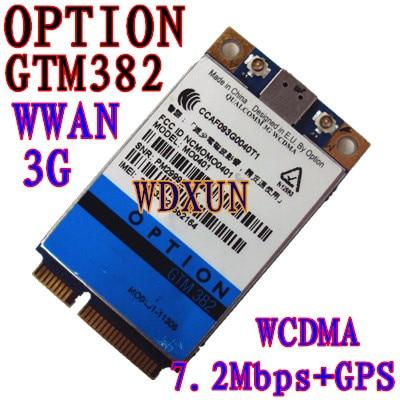 Επιλογή UNMOCKED GTM382 PCI-E 7,2Mbps Modem WWAN GTM 382 GPS 3G WWAN HSDPA
