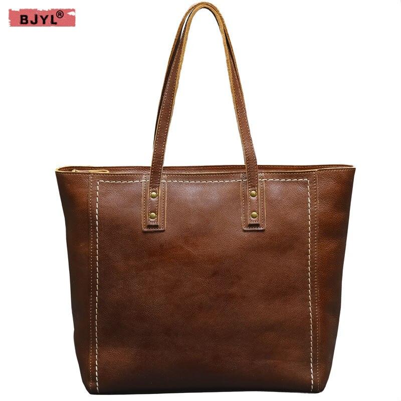 49059aa1e7ad BJYL Унисекс Мужская обувь из натуральной кожи и горе Для мужчин сумки  сечение сумка ретро женские