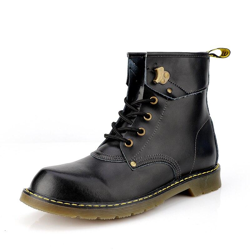 Hot-Sale-Martens-Shoes-for-Men-Wine-Red-