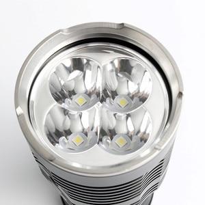 Image 5 - Sofirn חדש Q8 4 * XPL היי 5000LM עוצמה LED פנס 18650 מרובה מבצע הליך סופר בהיר פנסים IPX8