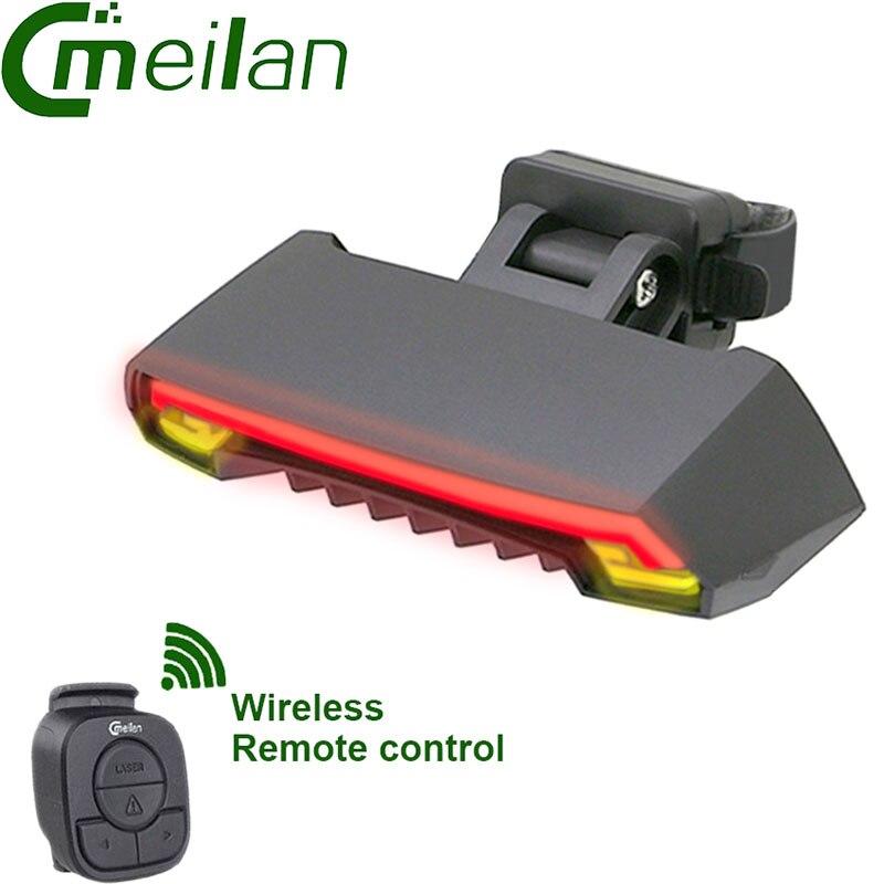 CMeilan X5 Fahrrad Echte licht Smart Wireless control USB fahrrad ...