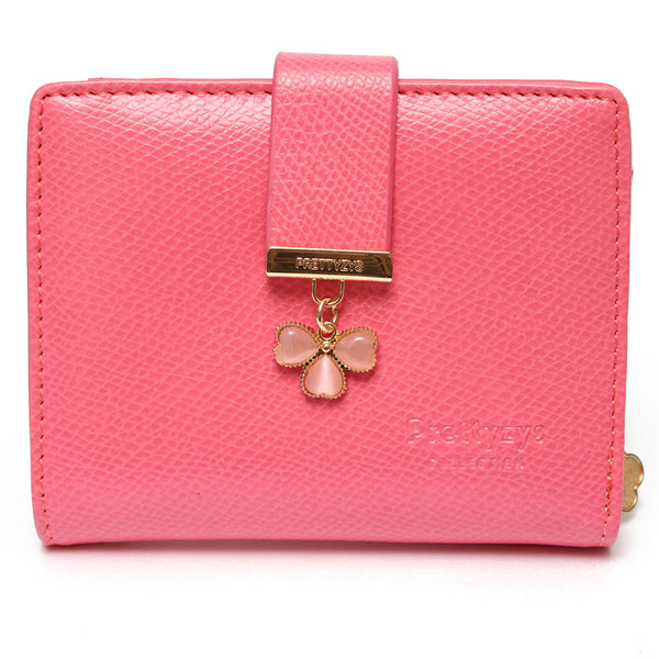 aliexpresscom buy candy color lucky clover diamond women short purse wallet 2016 new from reliable wallet handbag suppliers on jstart store - Buy Candy By Color