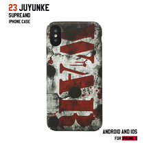 Tide brand Apple XSmax protective cover iPhone7/8 plus emboss matte hard shell iPhoneXR luminous all-inclusive mobile phone case