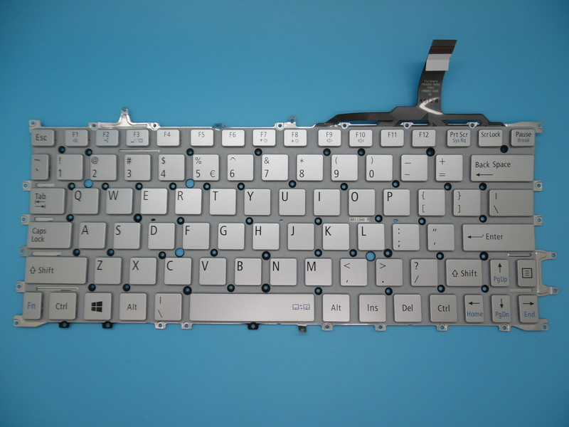 New notebook laptop keyboard for NEC HZ750 HZ750 HZ650 HZ550 HMB8610SMA01 US layout new notebook laptop keyboard for dell studio 15 1535 1536 1537 0kr770 backlit french layout