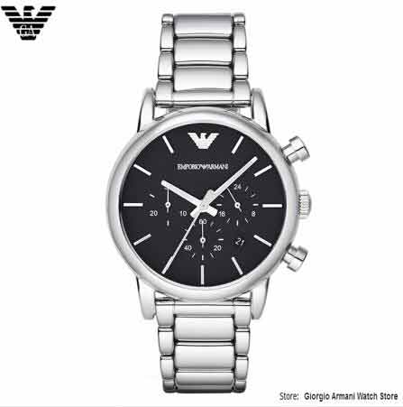 Original Giorgio Armani Free Shipping EMS/DHL Men's Quartz Watch, Men's Casual Watch Multi-function Timepiece Waterproof, Armani цена