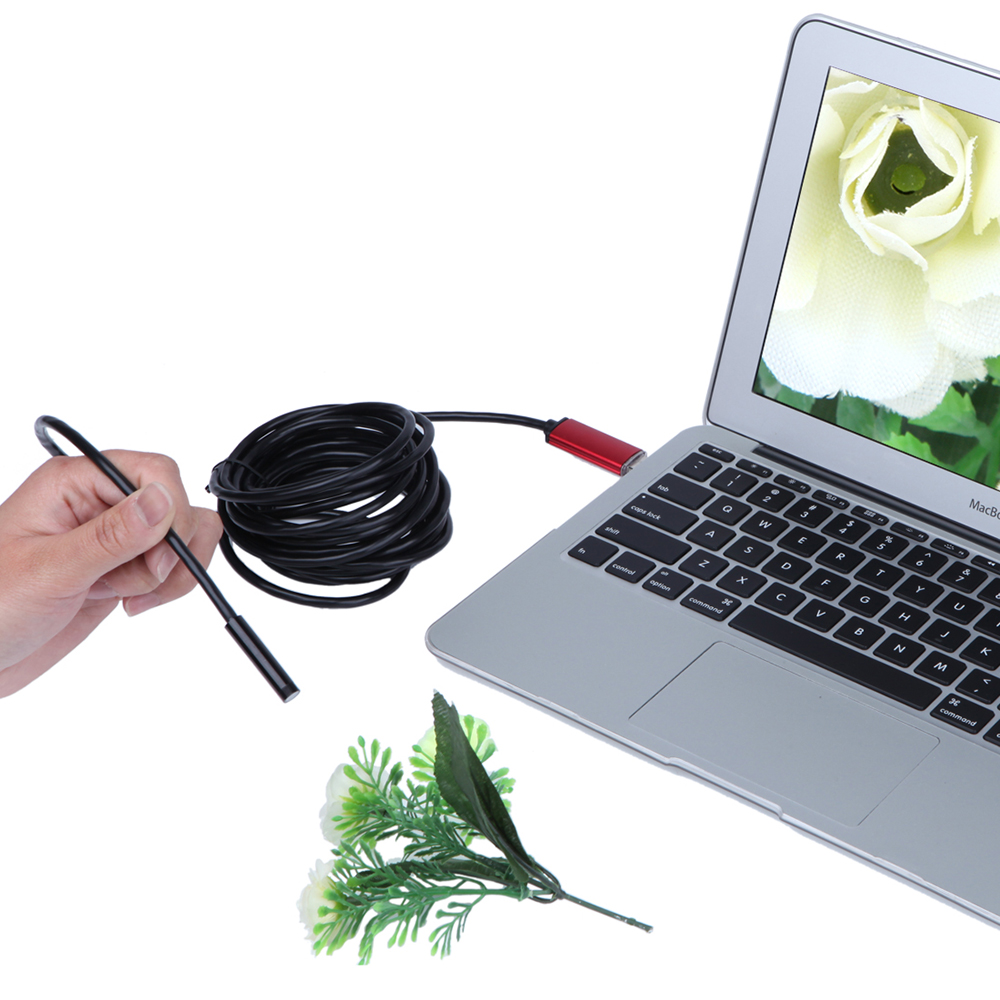 Endoszkóp 7 mm HD 2 m 5 m 10 m USB Android 2 az 1-ben Adapter - Mérőműszerek - Fénykép 4