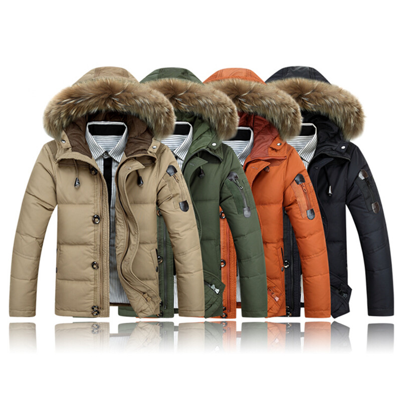 Free shipping 2017 mens clothing winter jacket outwear sleeves Warm Coat Male Solid men outwear Coat M-5XL