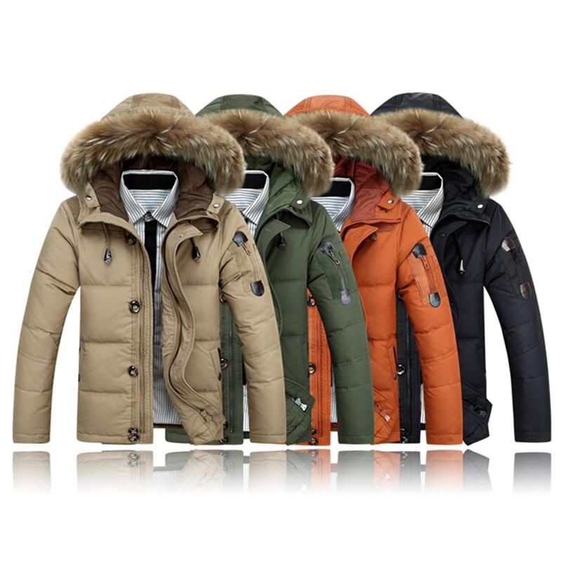 Ingyenes házhozszállítás 2017 férfi ruházat téli kabát - Férfi ruházat