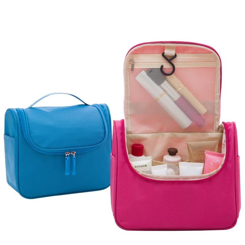 Large Travel Brand Makeup Bag Women Men Toilet  Bags Storage Box Men Waterproof Make Up Cosmetics  Bags Cosmetic Organizer