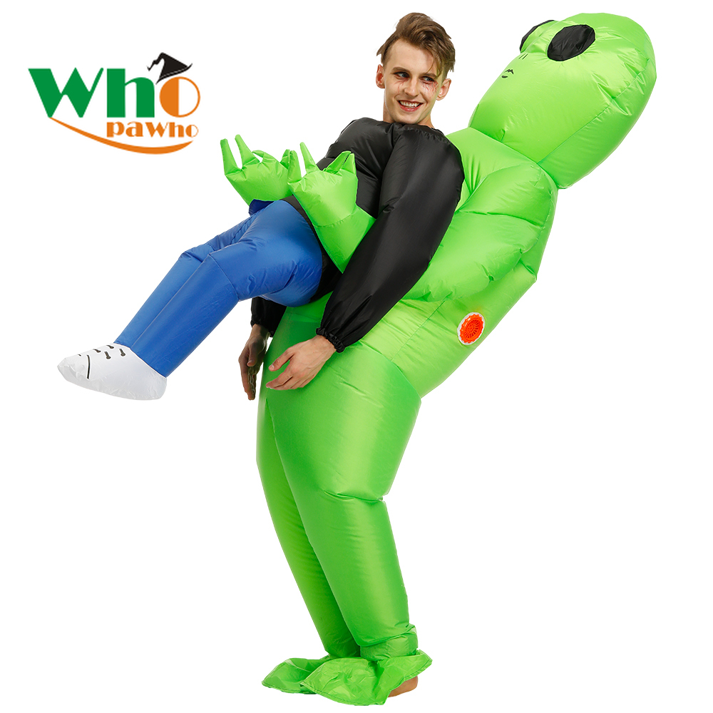 Parent-child Interactive Costumes Halloween Party Stage Clothing Inflatable Costume Aliens Scary Monster Cosplay For Adult Kid