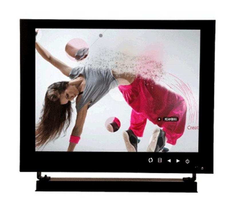 Moniteur TFT d'entrée HDMI VGA BNC AV de 8 pouces pour caméra de vidéosurveillance