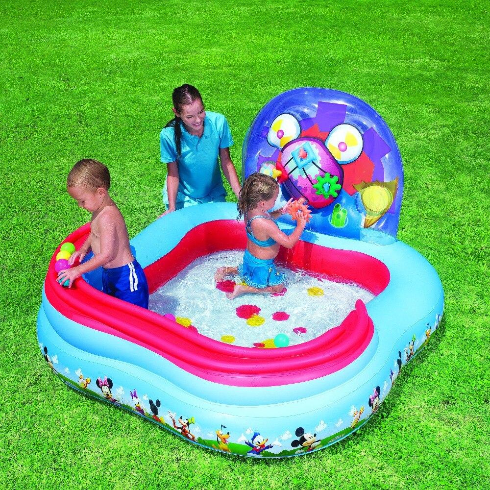 91015 BESTWAY 62 x 62 x 36 /1.57 м х 1.57 м х 91 см Играть центр/rollball надувной бассейн/baby shower ball бассейн/бассейн