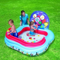 91015 BESTWAY 62x62x36/1.57mx1.57mx91cm Play Center/rollball inflatable pool/baby shower ball pool/swimming pool