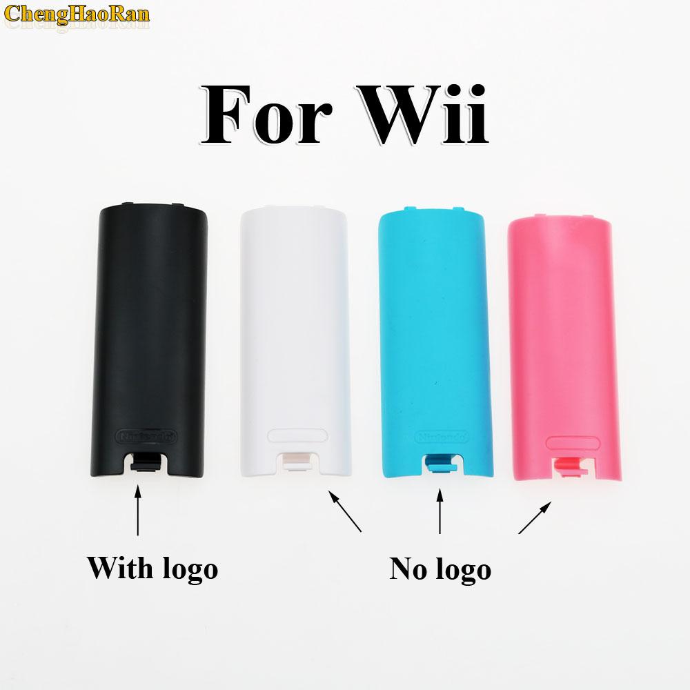 1PC Wireless Game Controller Battery Case Back Cover For Nintend Wii Remote Controller Gamepad Handle Battery Cases Covers-in Replacement Parts & Accessories from Consumer Electronics